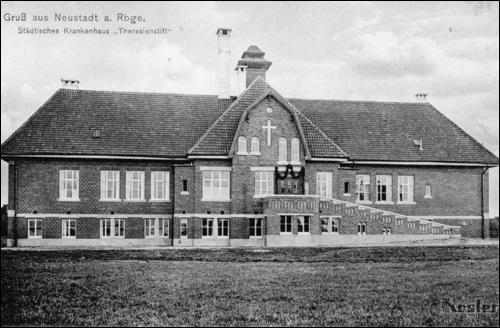 Postkarte von Köster etwa 1911/12