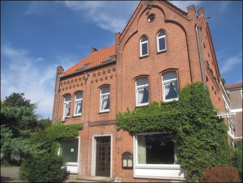 Das ehemalige Hotel und Gasthaus Scheve August 2016 (Foto Dyck 8/2016)