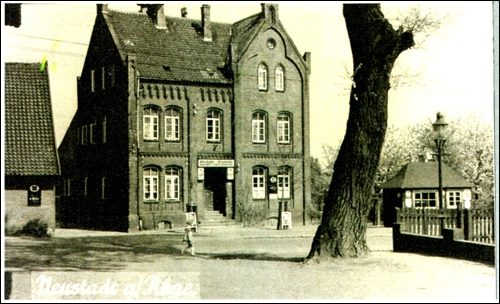 Die Eierscheine beim Haus Scheve in Neustadt