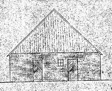 Hofansicht nach dem Umbau von 1938