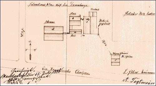 Zum Antrag August Tegtmeyer, genehmigt 23.Juli 1888 (Quelle: Stadt Neustadt)