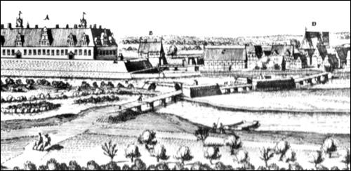 Merian Stich von Neustadt am Rübenberge