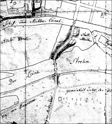 Plan um 1757