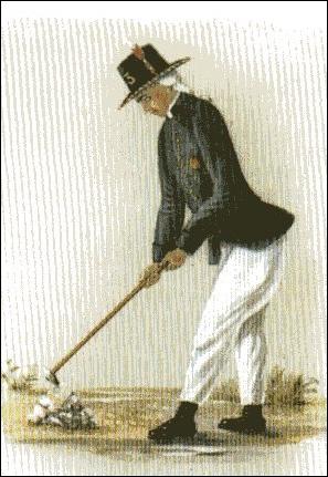 """Chausseewärter, Ende des 18. Jahrhunderts, in Sommeruniform und in Sommeruniform(Aus """"Es begann mit 12.000 Talern"""")"""