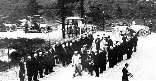 Spalier am Funkenturm in Eilvese/Neustadt am Rübenberge (Foto Archiv Region Hannover)