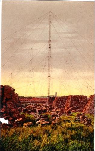 Postkarte des Telefunkenturms in Eilvese