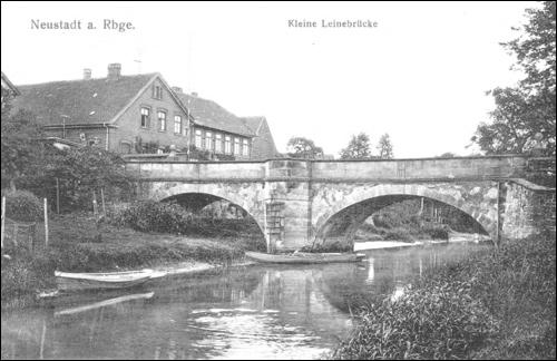 Kleine Leinebrücke in Neustadt am Rübenberge