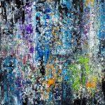 Alternative zum Gerechten. Öl und Acryl auf Leinwand. Christian Dyck
