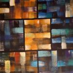 Quadrate. Acryl auf Leinwand. Christian Dyck