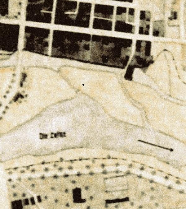 Wirtschaftsplan 1940: Auch im Wirtschaftsplan der Stadt Neustadt aus dem Jahre 1940 finden wir den kompletten Graben dargestellt. (ARH Dep K 285)