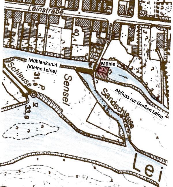 Grundkarte von 1959