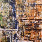 Rise. Acryl auf Leinwand. Christian Dyck