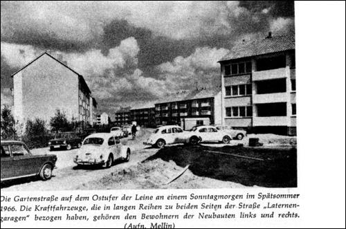 Gartenstraße 1960 (Aus Winkel, Foto Mellin)