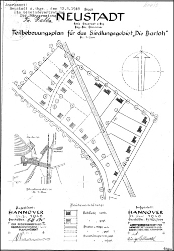 1948: TeilbebeuungsplanAm Barloh