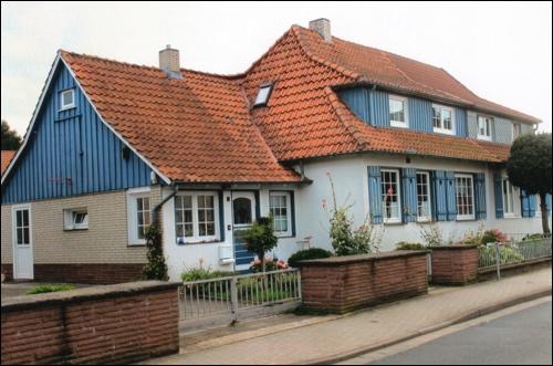Doppelhaus in der Lindensiedlung (Foto Dyck)