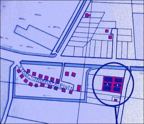 Ernst- Strobach- Platz (Stadtplan 1951)