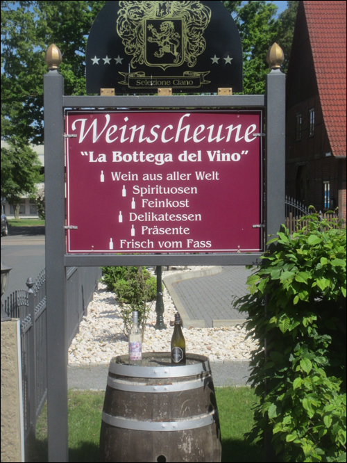 Weinscheune: La Bottega del Vino