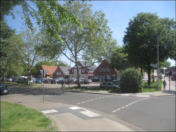 Der Schützenplatz in Neustadt am Rübenberge vom Westen gesehen (Foto Dyck)