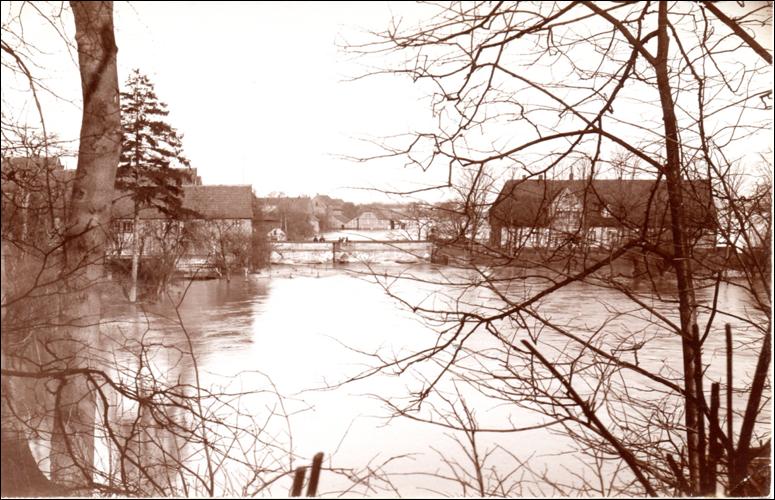 Neustadt unter Wasser 1909