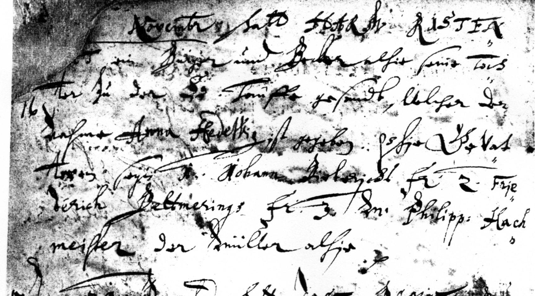 Handschrift 1688