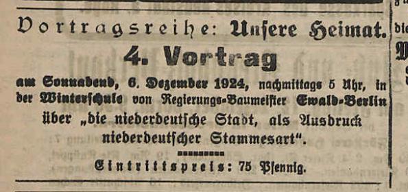 Grabenhorst-Vortragsreihe