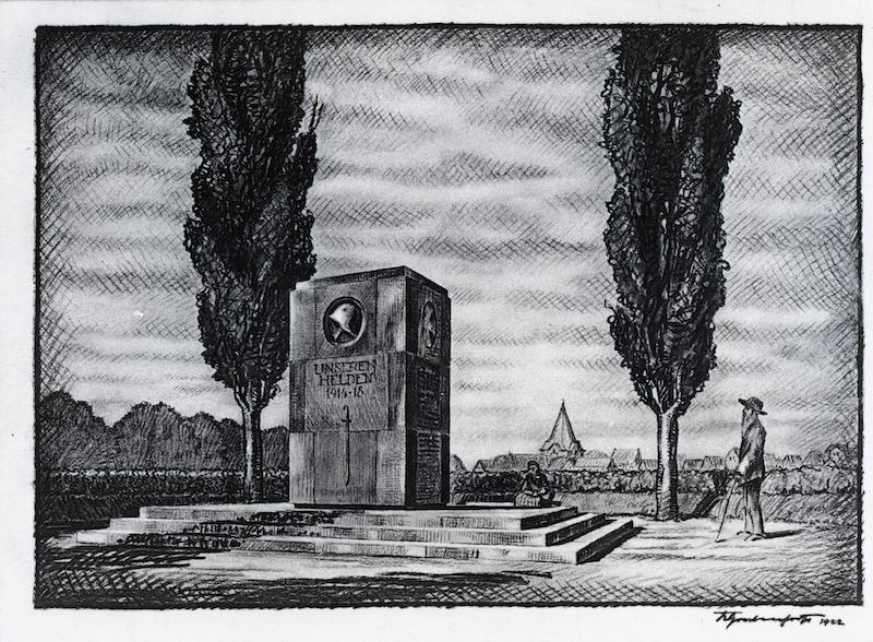 Zeichnung von Grabenhorst